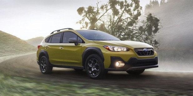 2021 Subaru Crosstrek facelift