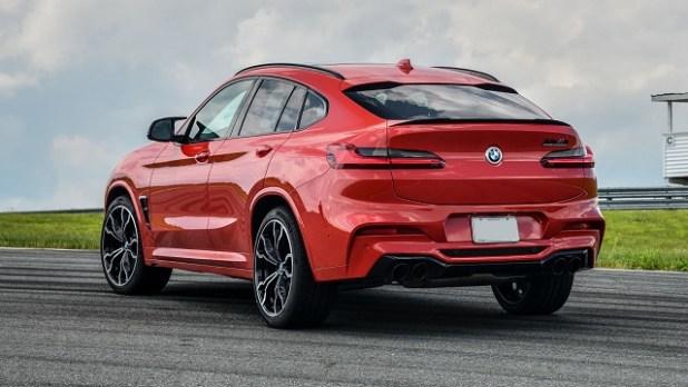 2021 BMW X4 rear