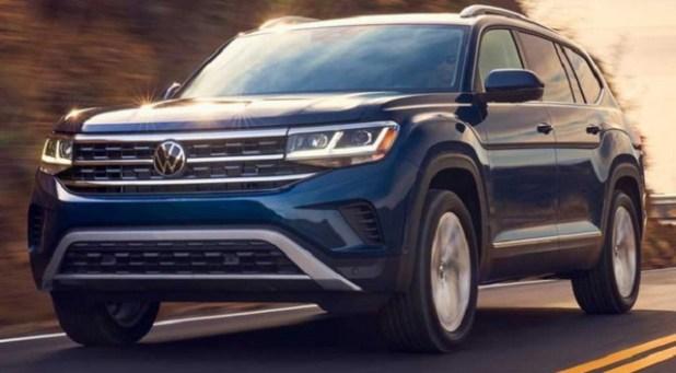 2022 VW Atlas front