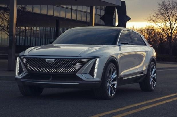 2022 Cadillac Lyriq design