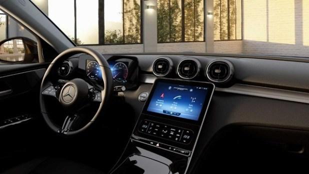 2022 Mercedes-Benz GLC Interior