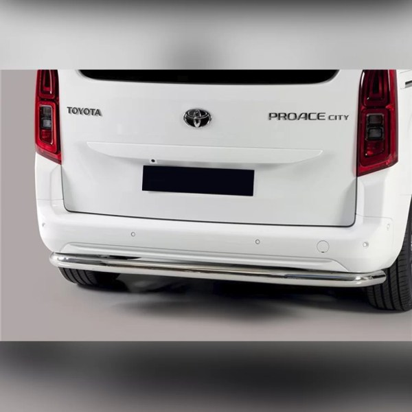 PROTECTION ARRIERE INOX SUR TOYOTA PROACE CITY VERSO 2019+