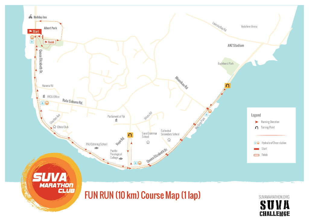 2017 Suva Challenge 10k Fun Run