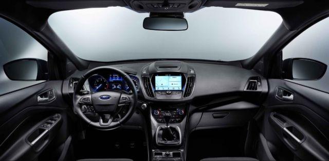 2019 Ford Kuga interior