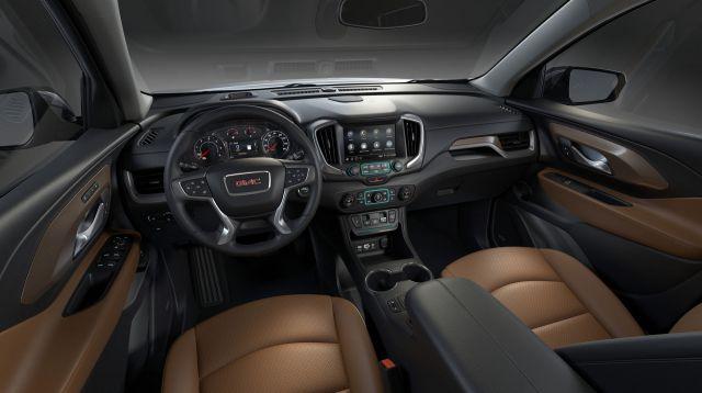 2019 GMC Terrain interior