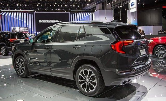 2019 GMC Terrain rear