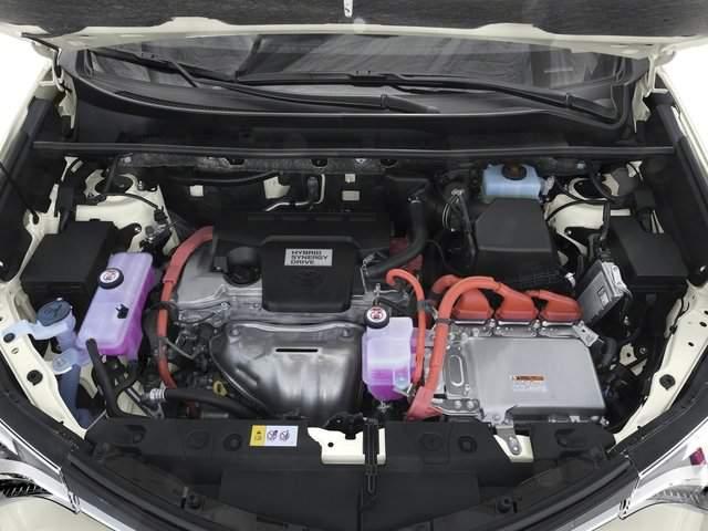 2019 Toyota RAV4 Hybrid engine