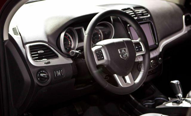 2019 Dodge Journey interior