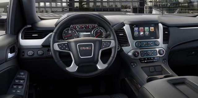 2019 GMC Yukon interior