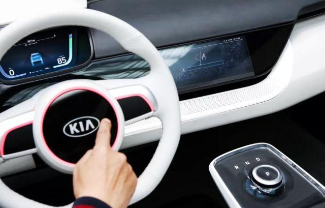 2019 Kia Niro EV interior