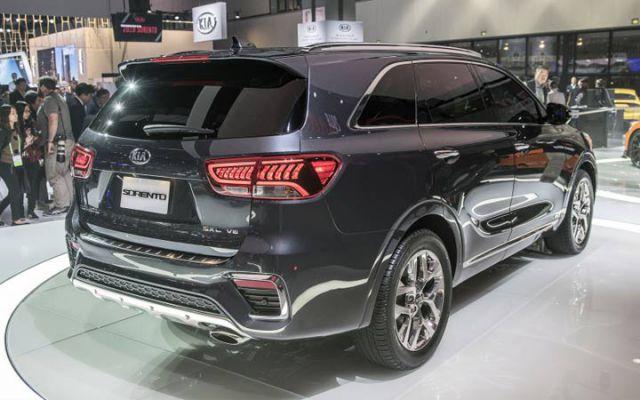2019 Kia Sorento rear