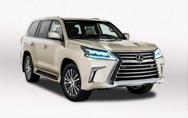2019 Lexus LX 570 Two-Row