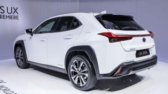 2019 Lexus UX rear