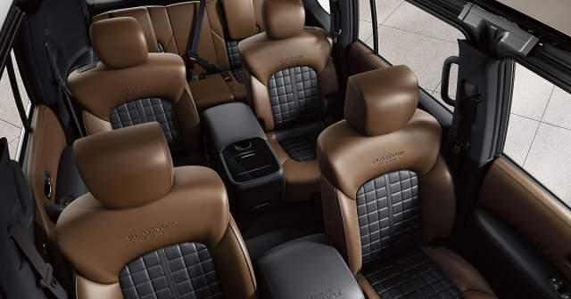 2019 Nissan Armada Platinum interior