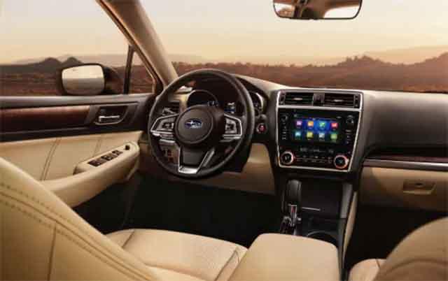2019 Subaru Outback interior