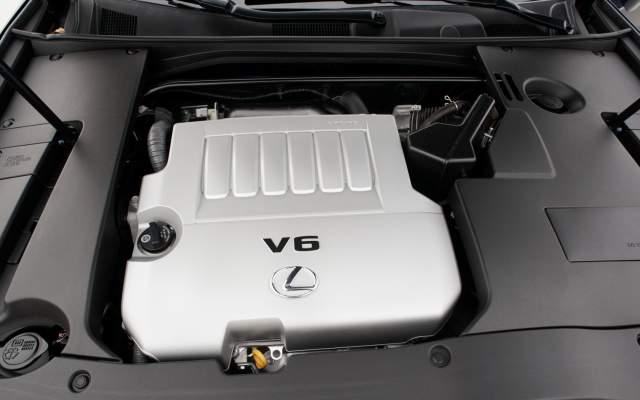 2019 Lexus RX 350 engine