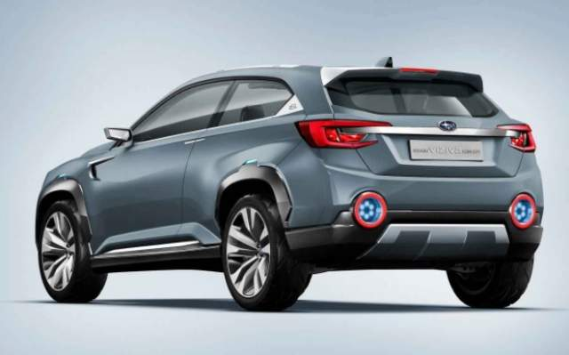 2019 Subaru Crosstrek rear