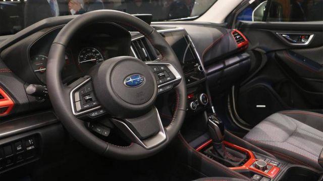 2019 Subaru Forester interior