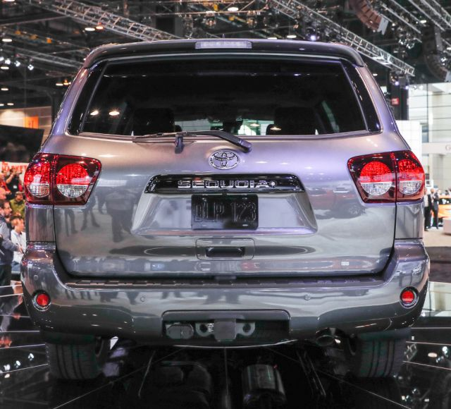2019 Toyota Sequoia TRD Sport rear
