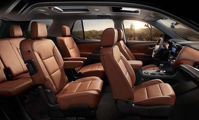 2019 Chevrolet Suburban Diesel interior