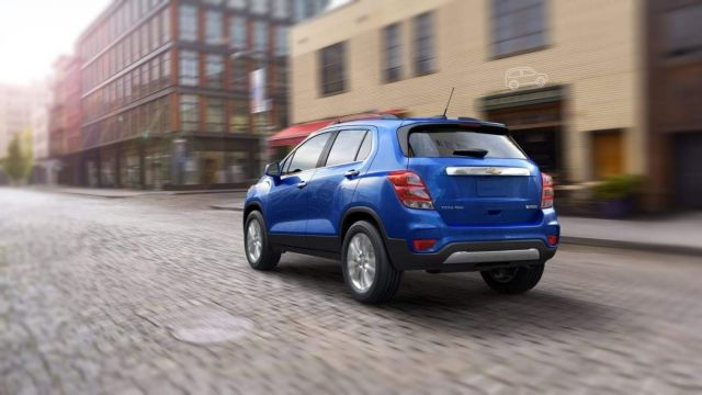 2019 Chevy Trax rear
