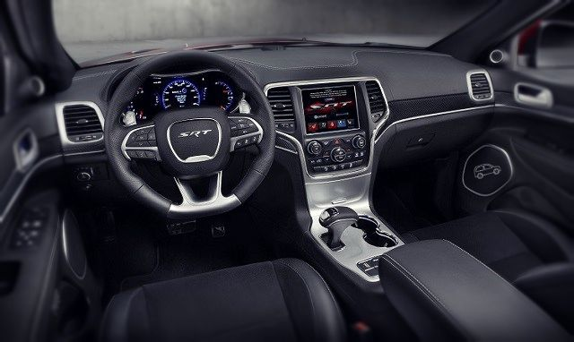 2019 Jeep Grand Cherokee SRT interior view