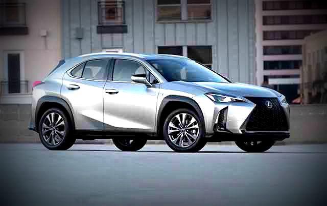 2019 Lexus UX front
