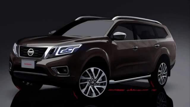 2019 Nissan Paladin front