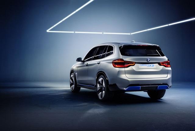 2020 BMW iX3 rear