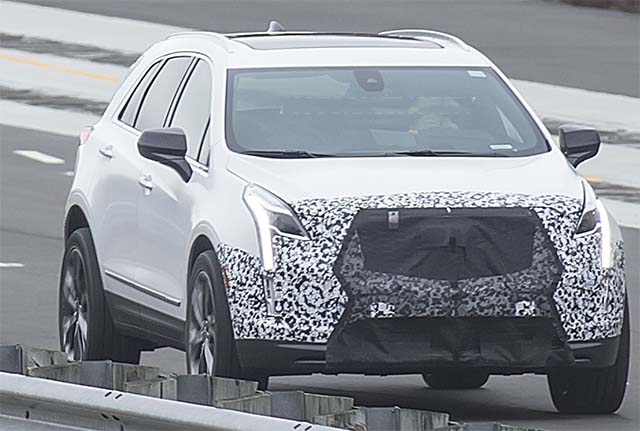 2020 Cadillac XT5 spied