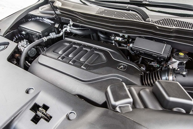 2019 Acura MDX Hybrid engine