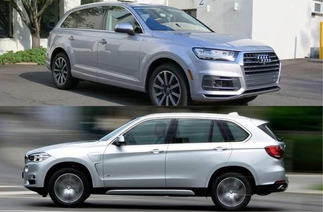 2019 Audi Q7 vs 2019 BMW X5