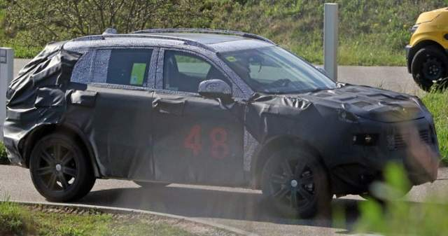 2020 Dodge Journey spied
