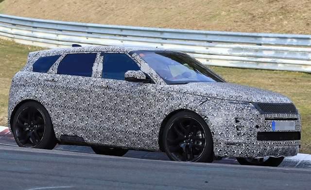 2020 Range Rover Evoque spied