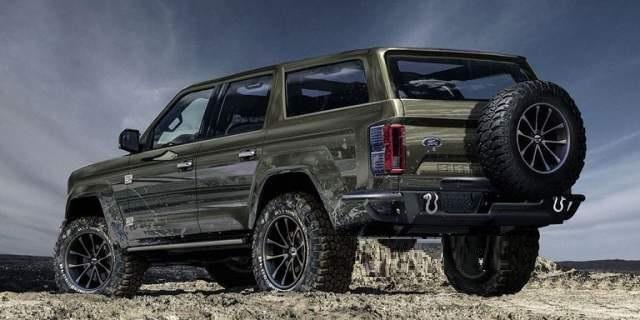 2020 Ford Bronco 4 Door concept