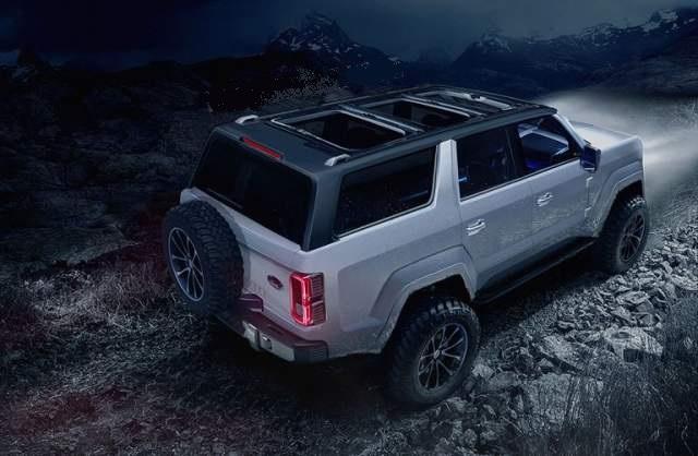 2020 Ford Bronco 4-Door rendering
