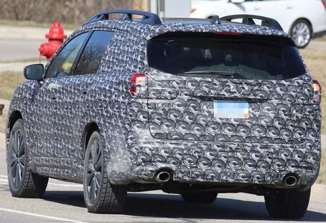 2020 Subaru Outback rear