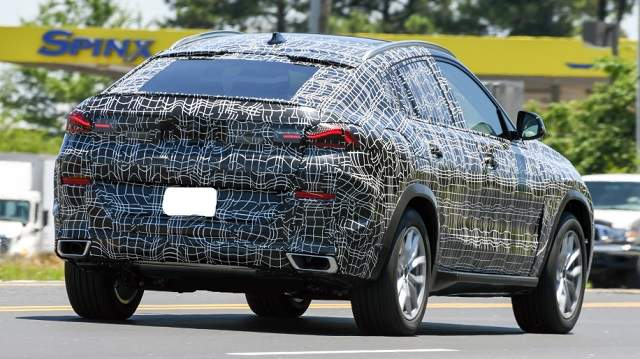 2020 BMW X6 redesign