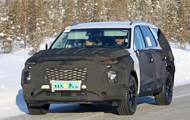 2020 Volvo XC90 spied