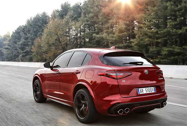 2020 Alfa Romeo Stelvio Quadrifoglio changes
