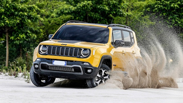 2020 Jeep Renegade facelift