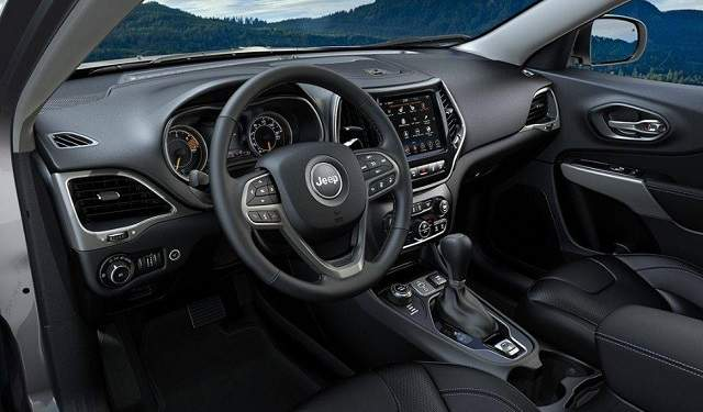 2021 Jeep Grand Cherokee Three-Row interior
