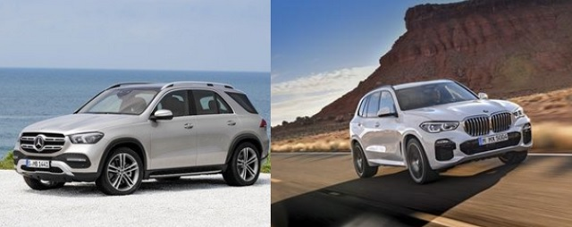 2020 BMW X5 vs Mercedes GLE