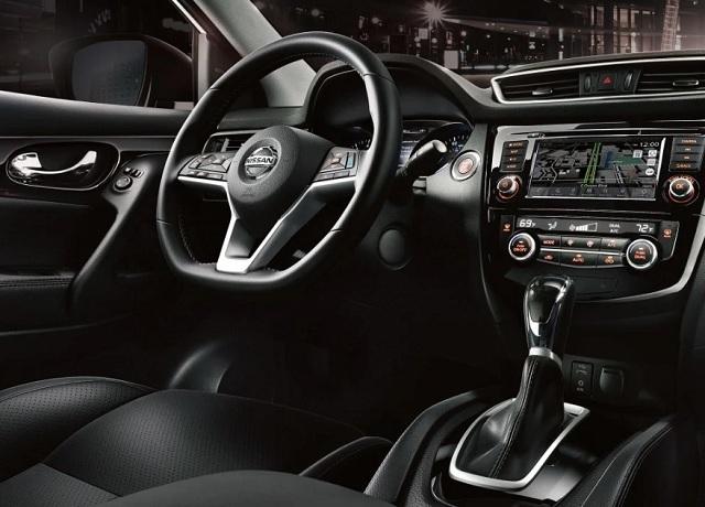 2020 Nissan Rogue Sport interior