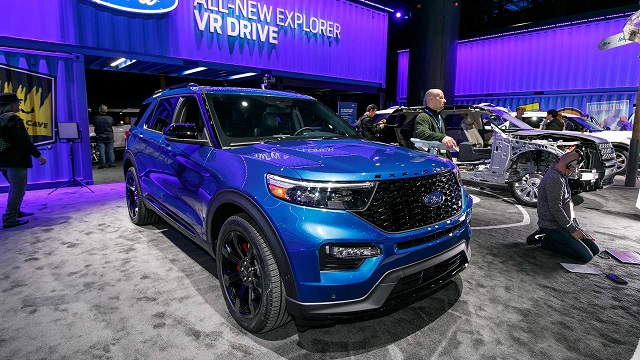 2020 Ford Explorer ST premiere