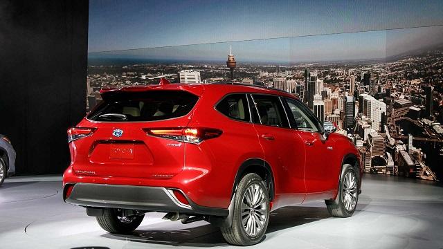 2020 Toyota Highlander Hybrid fuel economy