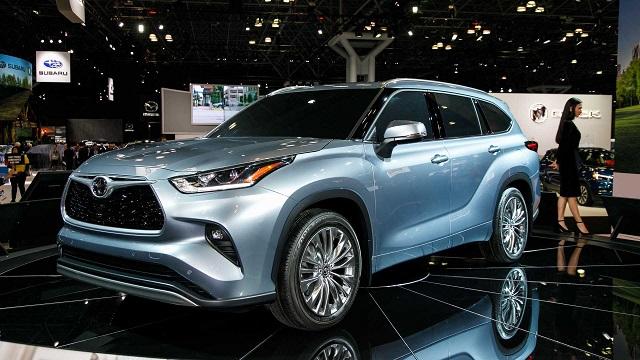 2020 Toyota Highlander Hybrid redesign