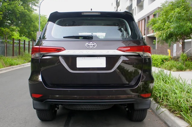 2020 Toyota Fortuner changes