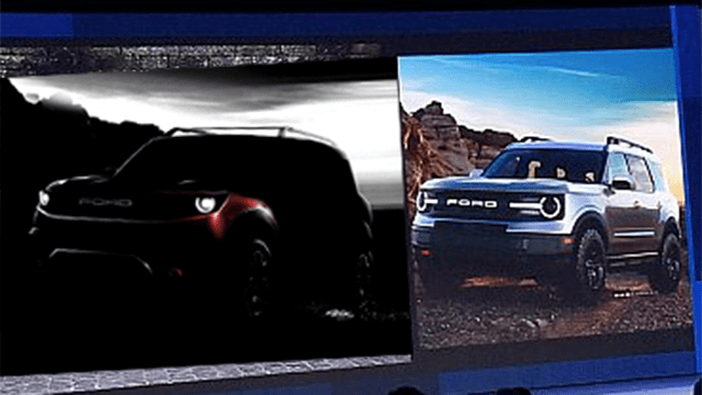 2021 ford baby bronco