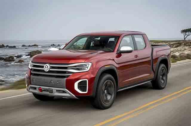 2021 VW Atlas tanoak truck